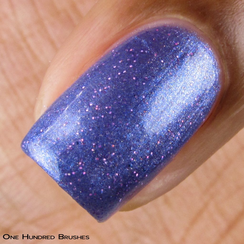 Aryn's Tears - Macro - Braves Diva Polish - The Artists Collection