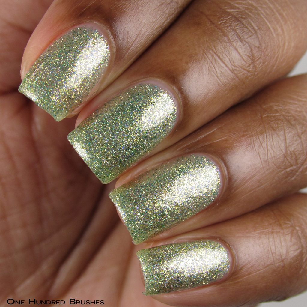 Combing Tangles - Bottle Front - Braves Diva Polish - The Artists Collection