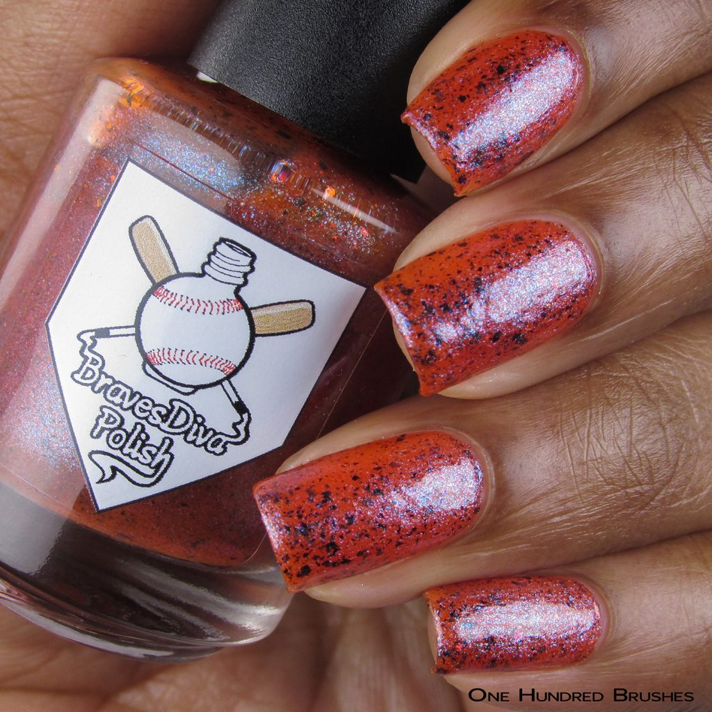 Desert Friends - Bottle Front - Braves Diva Polish - The Artists Collection
