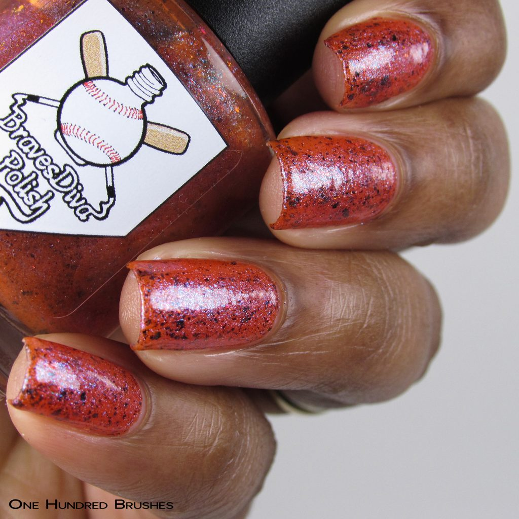 Desert Friends - Bottle Side - Braves Diva Polish - The Artists Collection