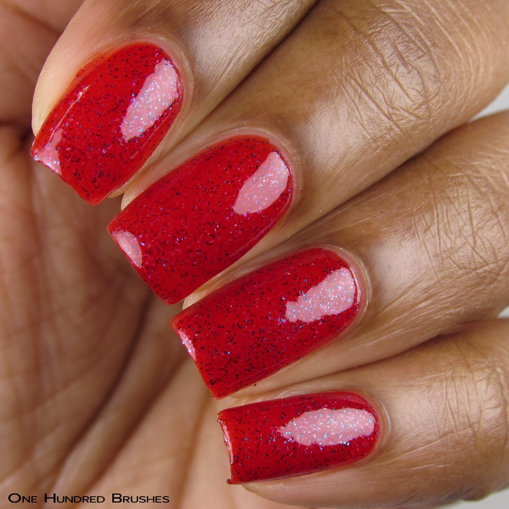 Roper - Closeup - Braves Diva Polish - The Artists Collection