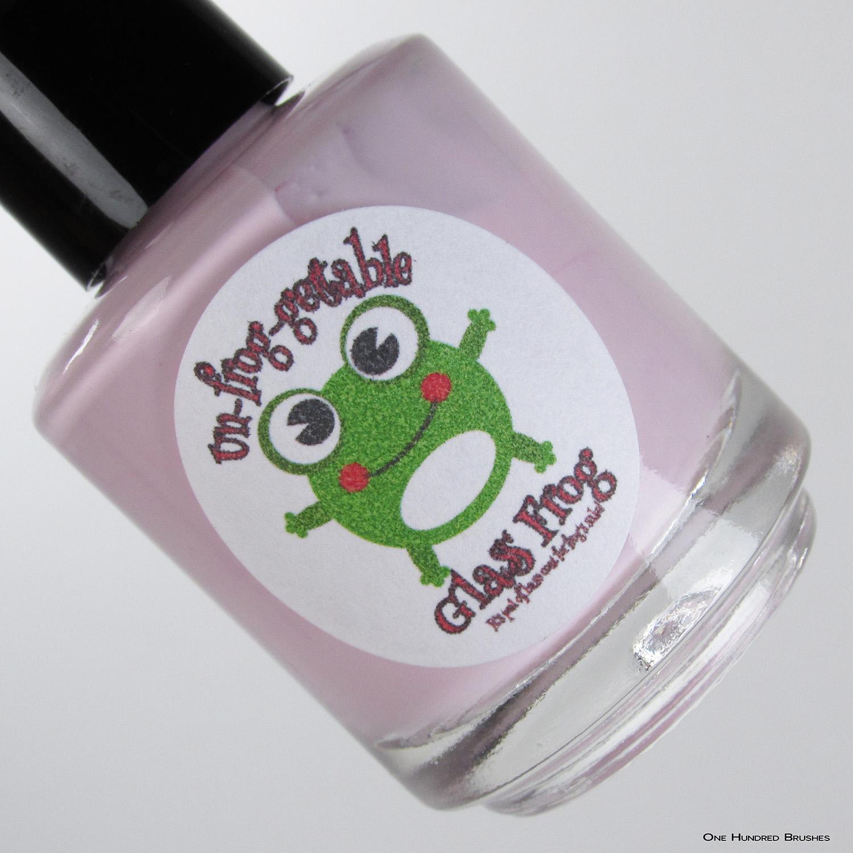 BravesDiva Chew Glass Frog - Ribbit Stickits - BTOD Box 2019