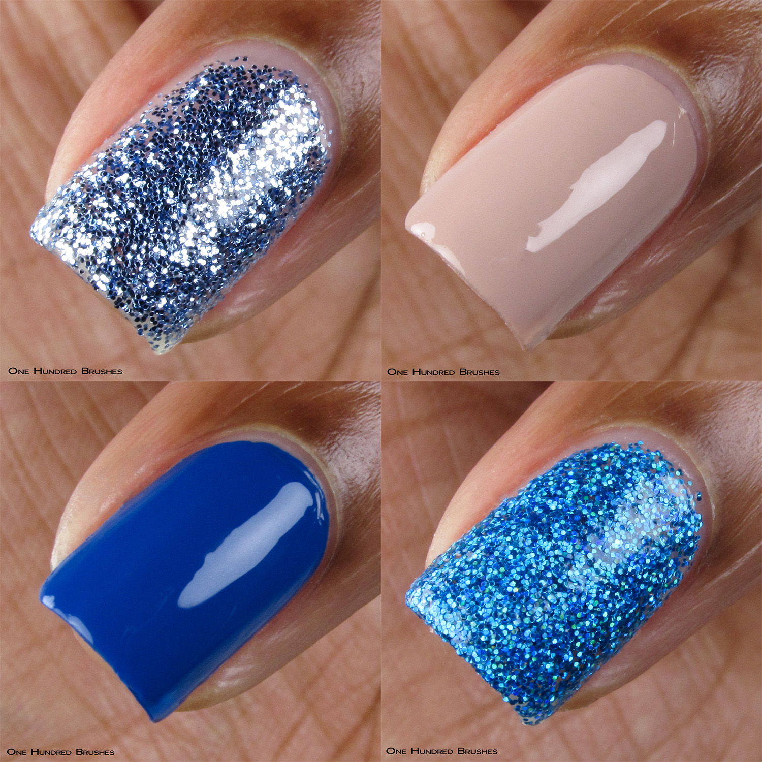 Dimension Nails January 2019 - Macro collage