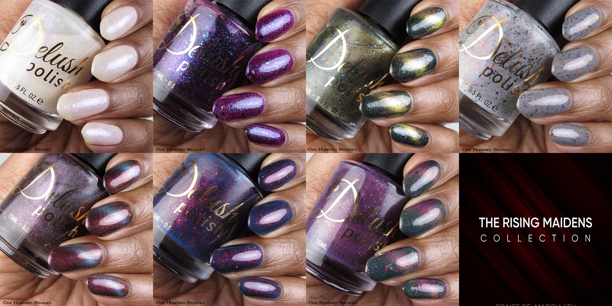 The Rising Maidens Collection - Delush Polish - March 2019