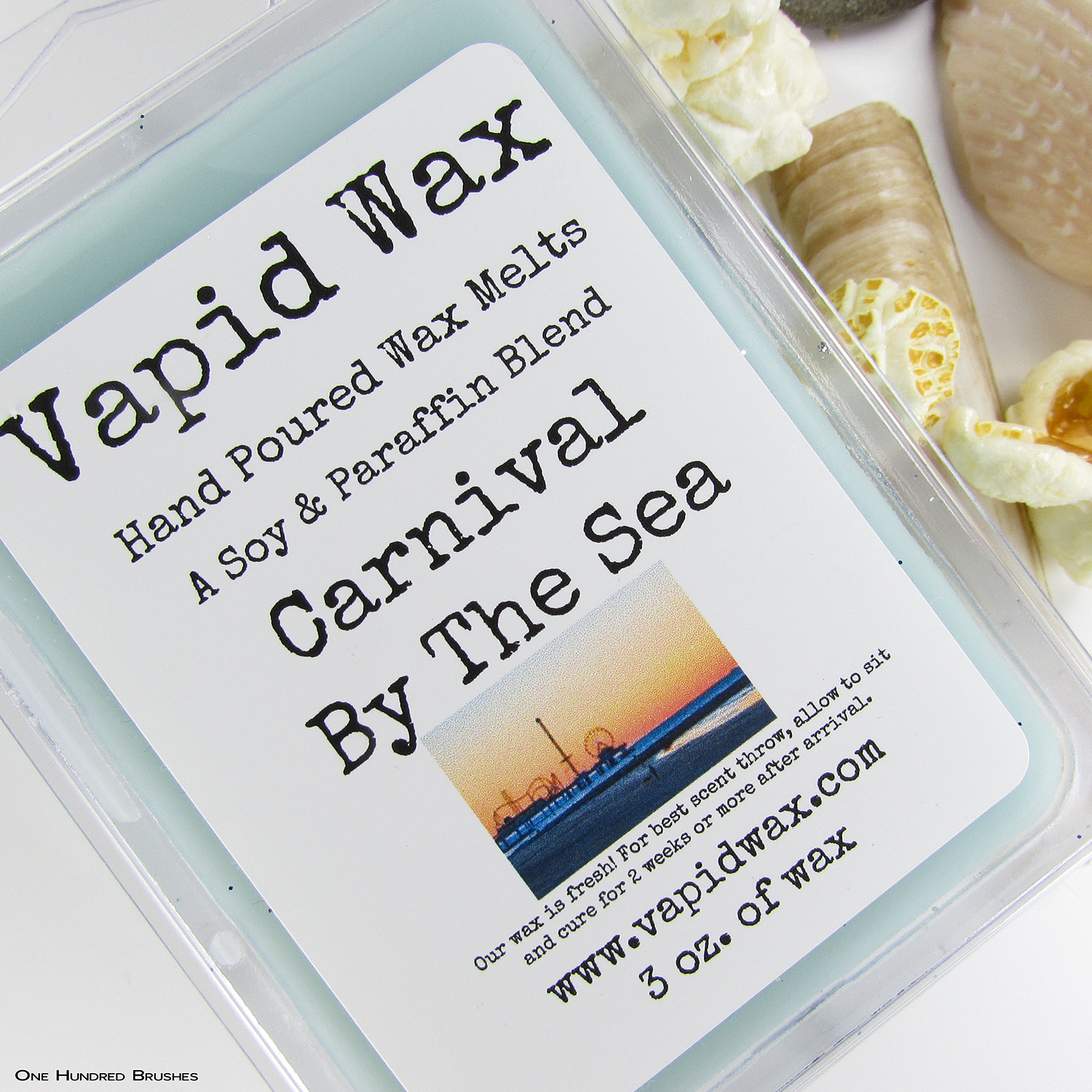 Carnival By The Sea - Vapid Wax - Polish Pickup Aug 2019