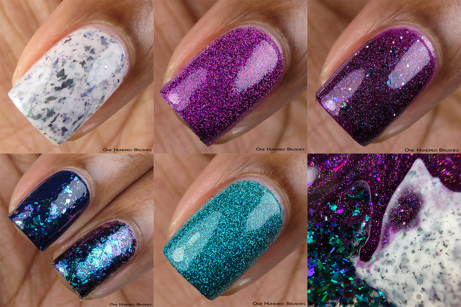 Macro Collage - Painted Polish Fall 2019