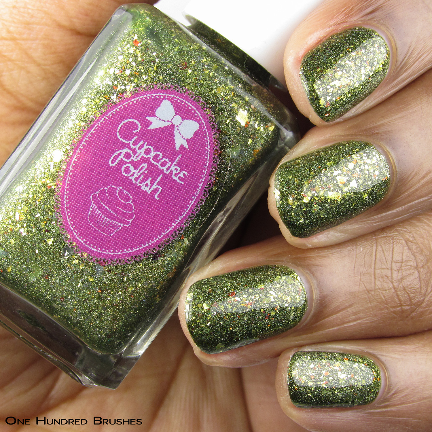 Oh My Gourd - Cupcake Polish - The Holo Hookup Oct 2019