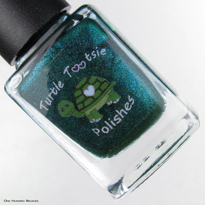 Thankful For Friends - Turtle Tootsie Polish - The Holo Hookup Nov 2019