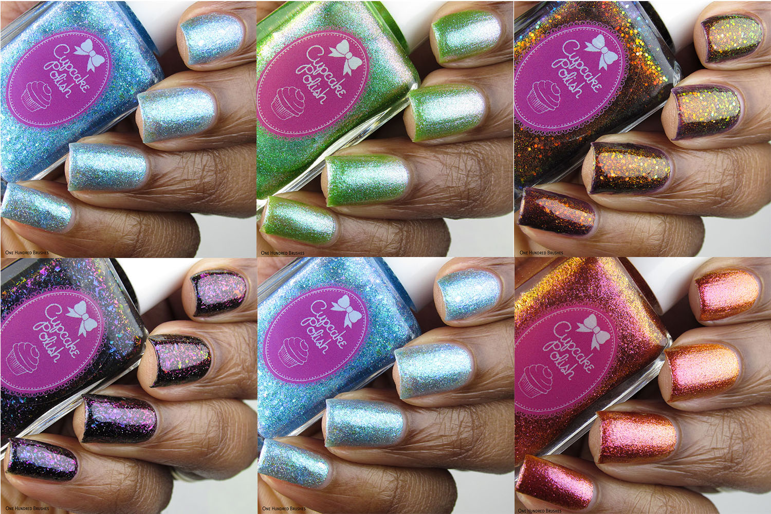 Bottle Side Collage - Cupcake Polish - New Iceland Collection January 2020
