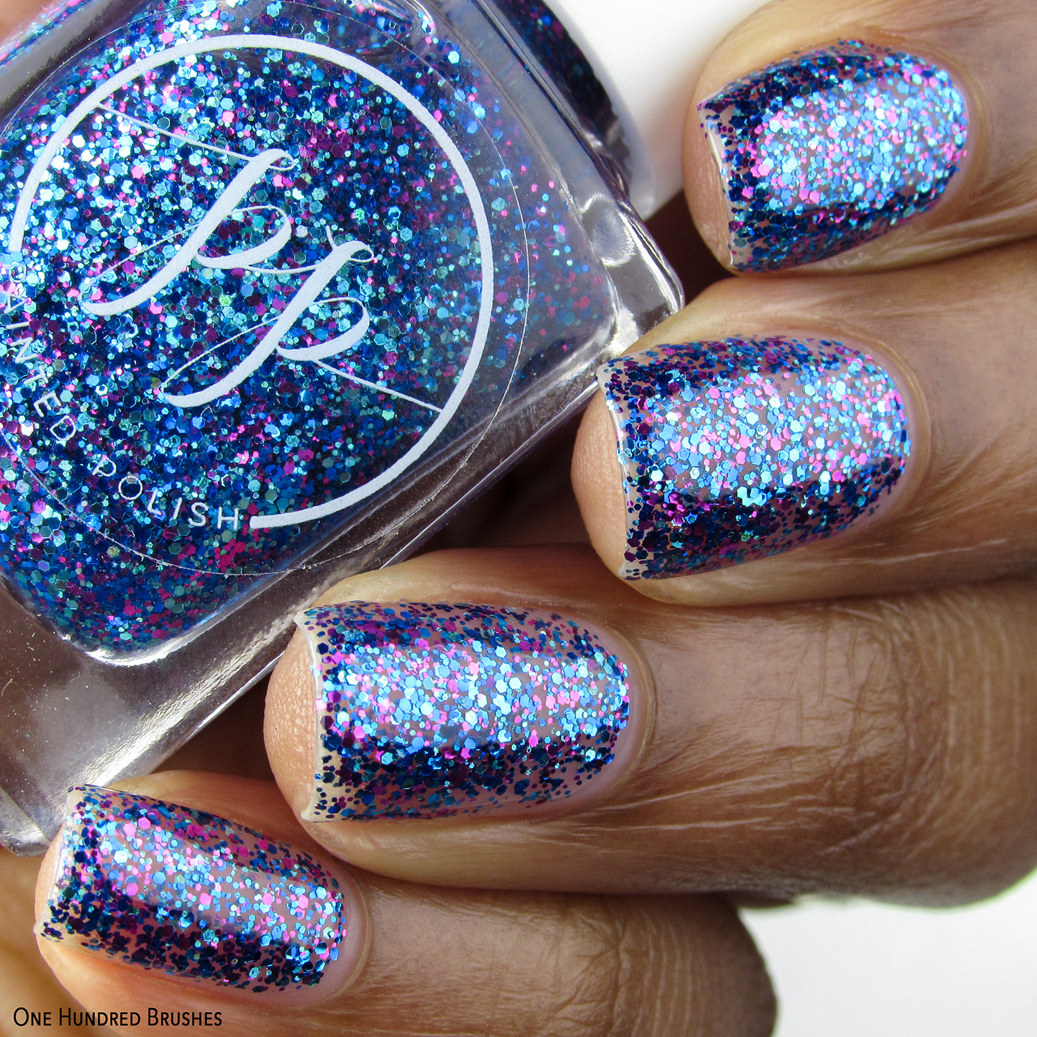 Coralberry Cold Snap - Painted Polish by Lexi - Blizzards & Berries Jan 2020