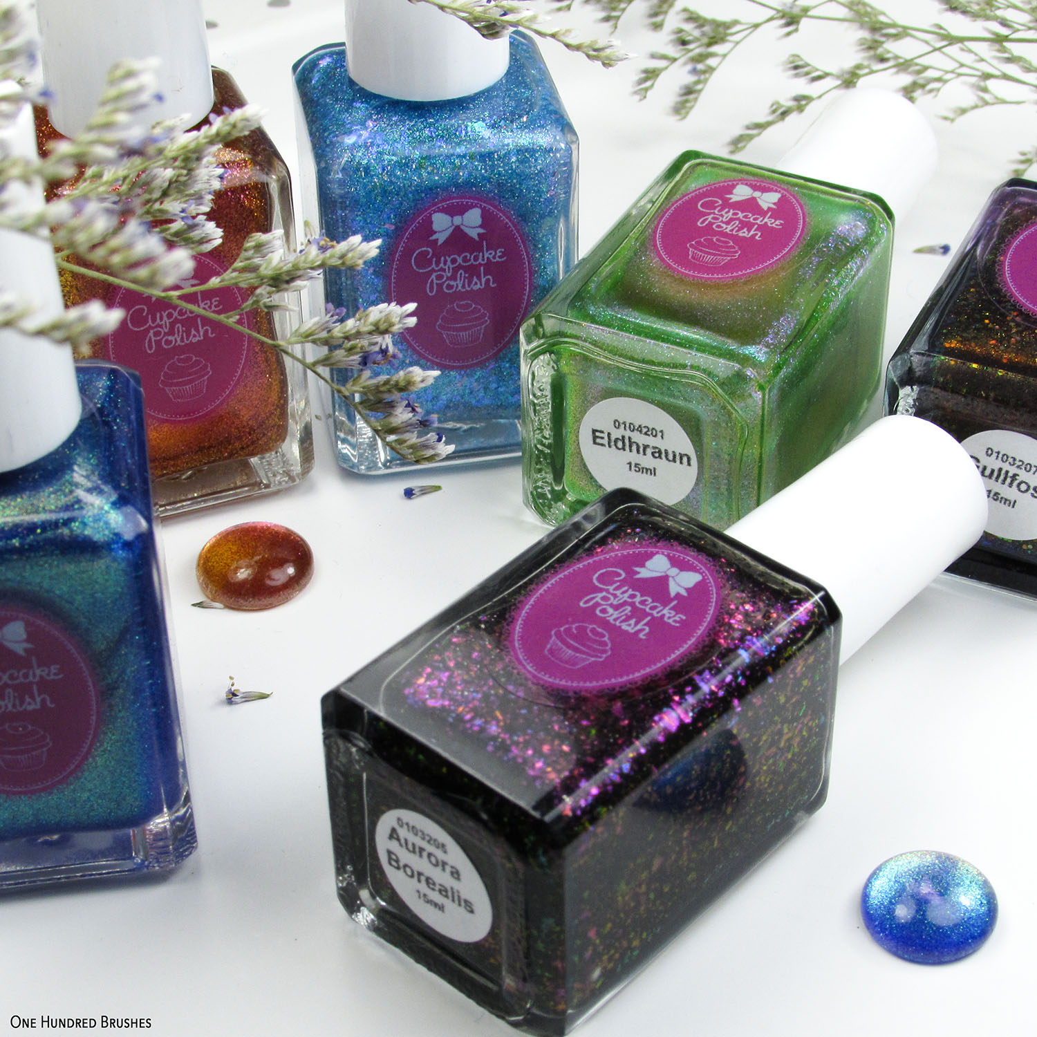 Flat Lay Square - Cupcake Polish - New Iceland Collection January 2020