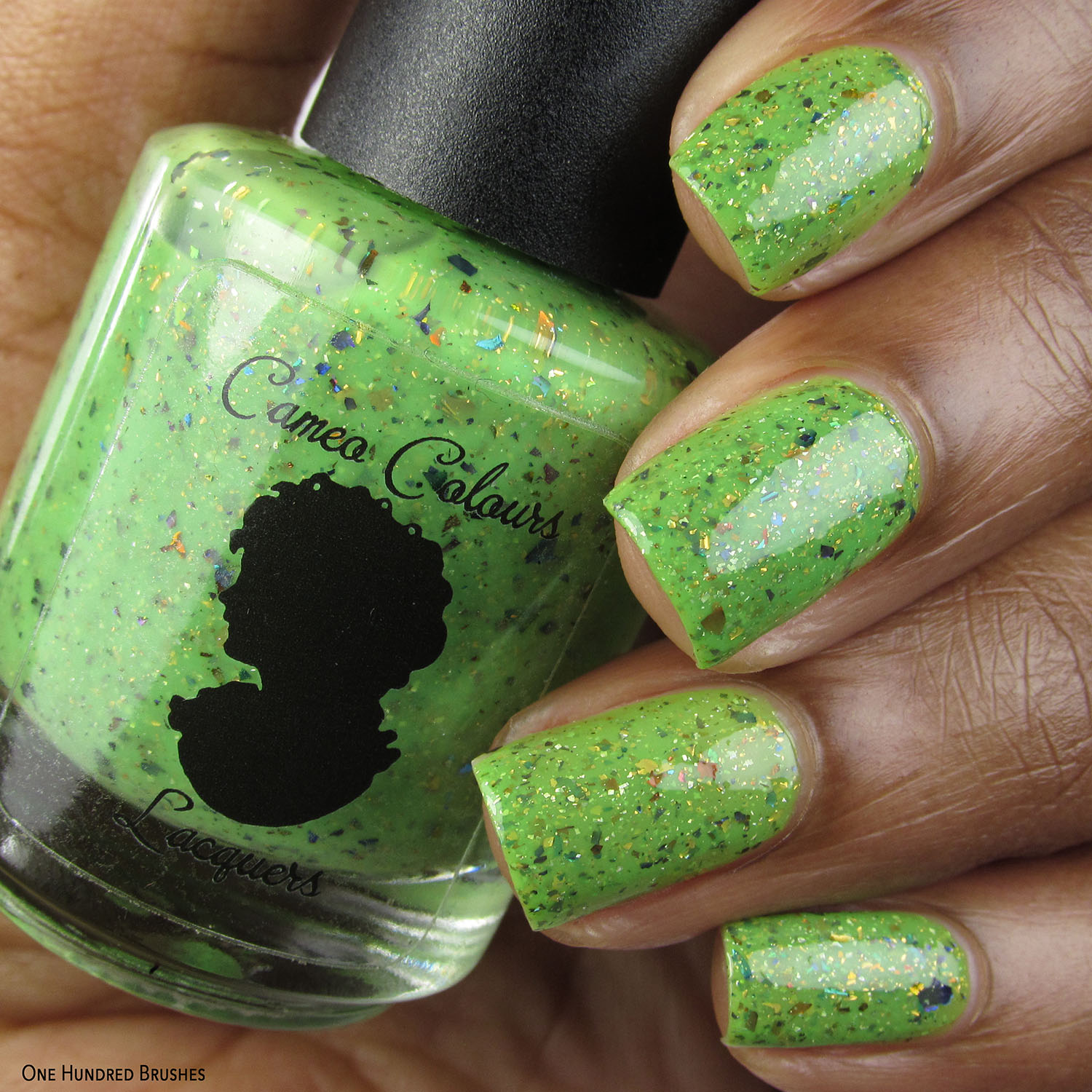 Feather in the Foliage - Cameo Colours Lacquers - Polish Pickup Feb 2020