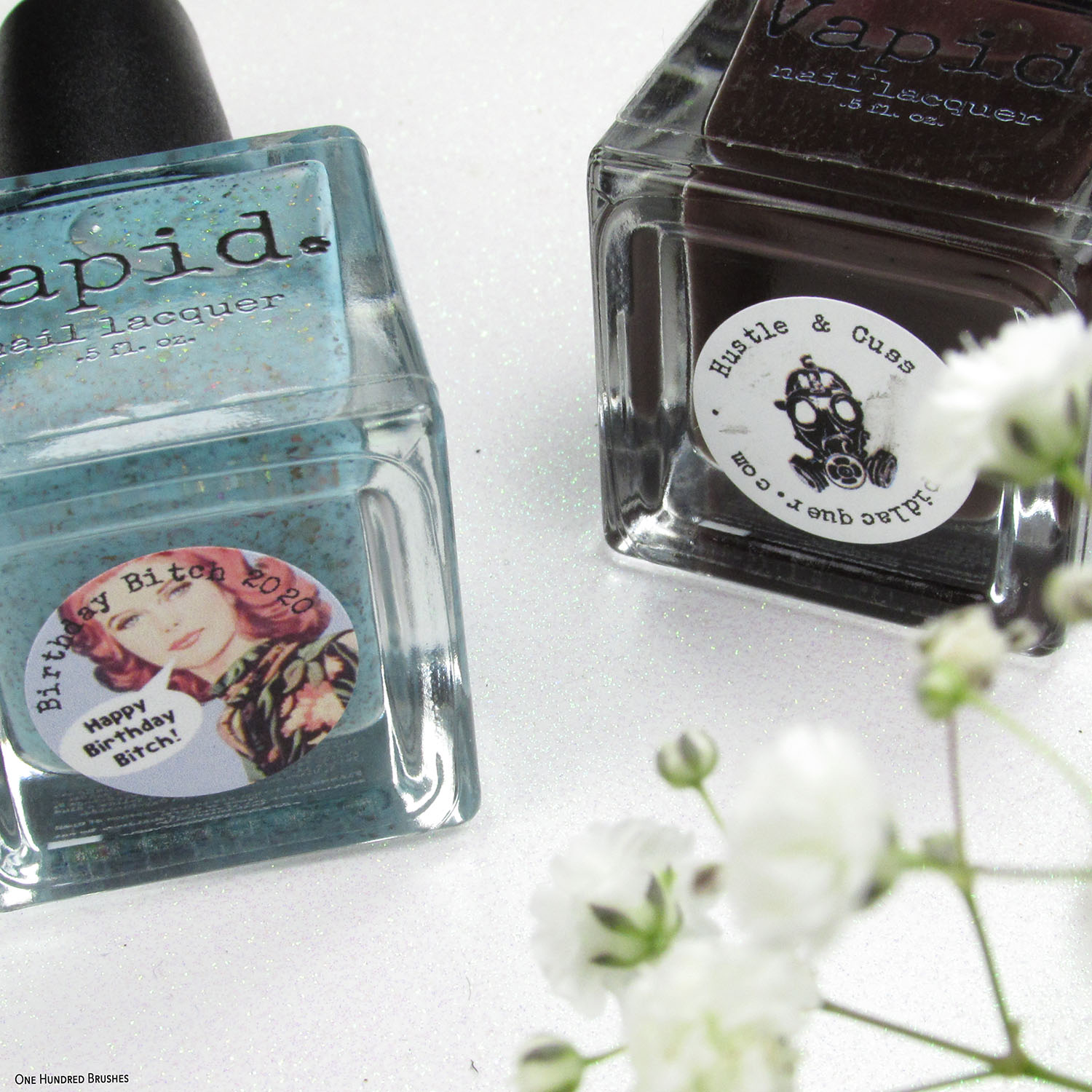 Flat Lay Square - Birthday Duo - Vapid Lacquer Feb 2020