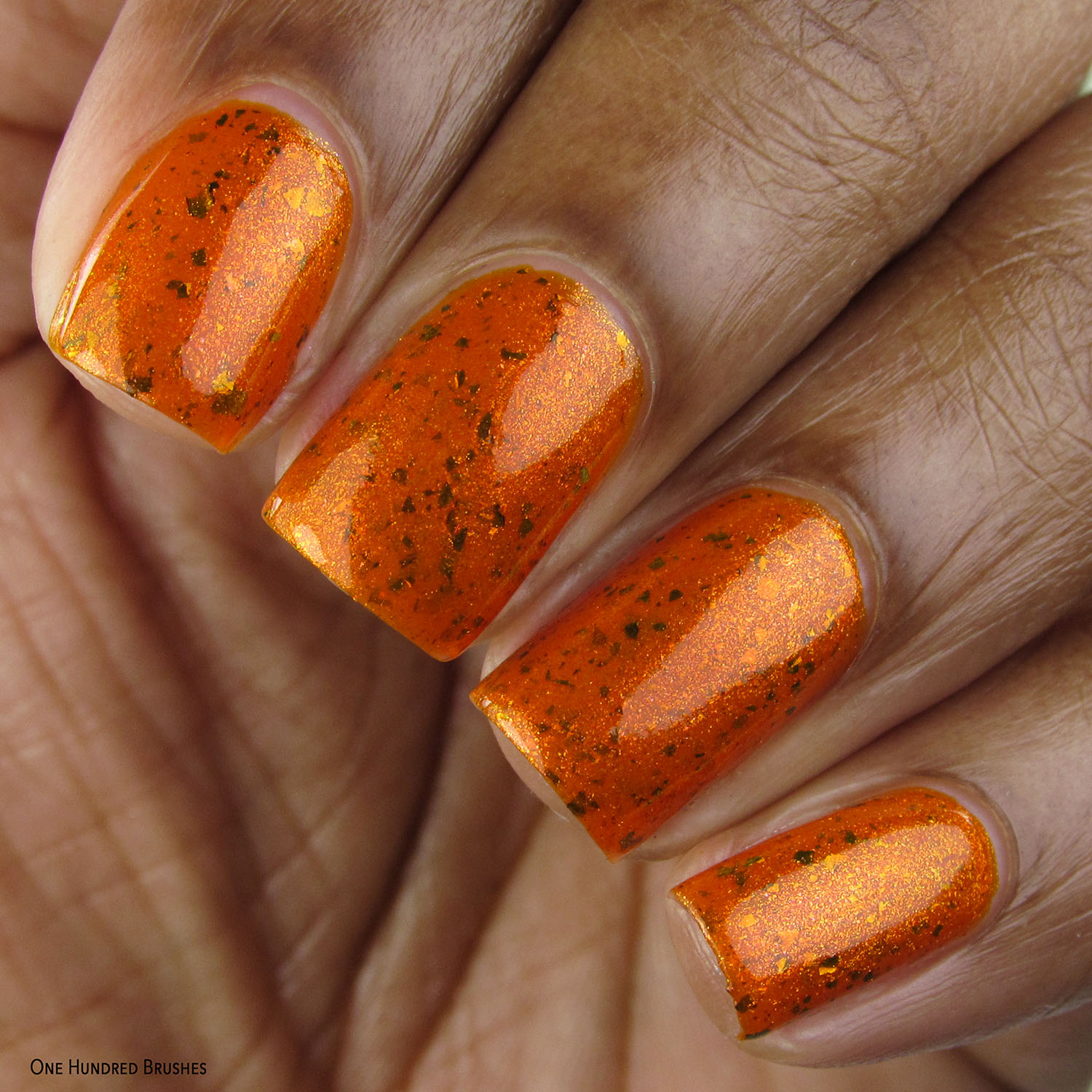 I Have Been Baptized Twice, Once In Water, Once In Flame - Geekish Glitter Lacquer - Fallout Polished Gamers February 2020