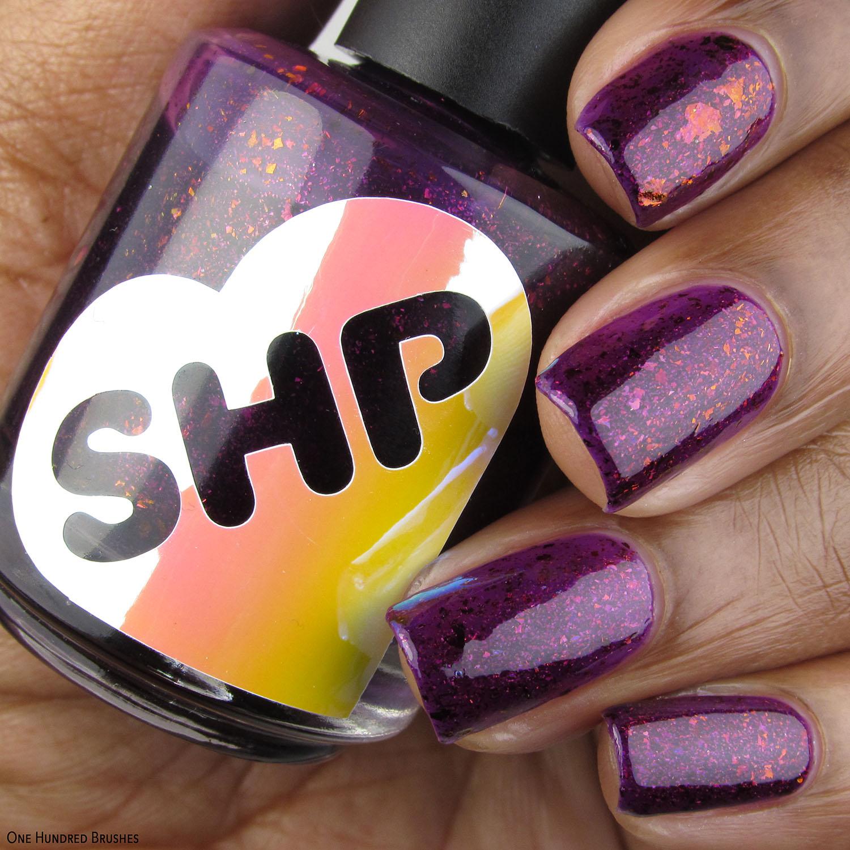 Purple Lilies - Sweet Heart Polish - Polish Pickup February 2020