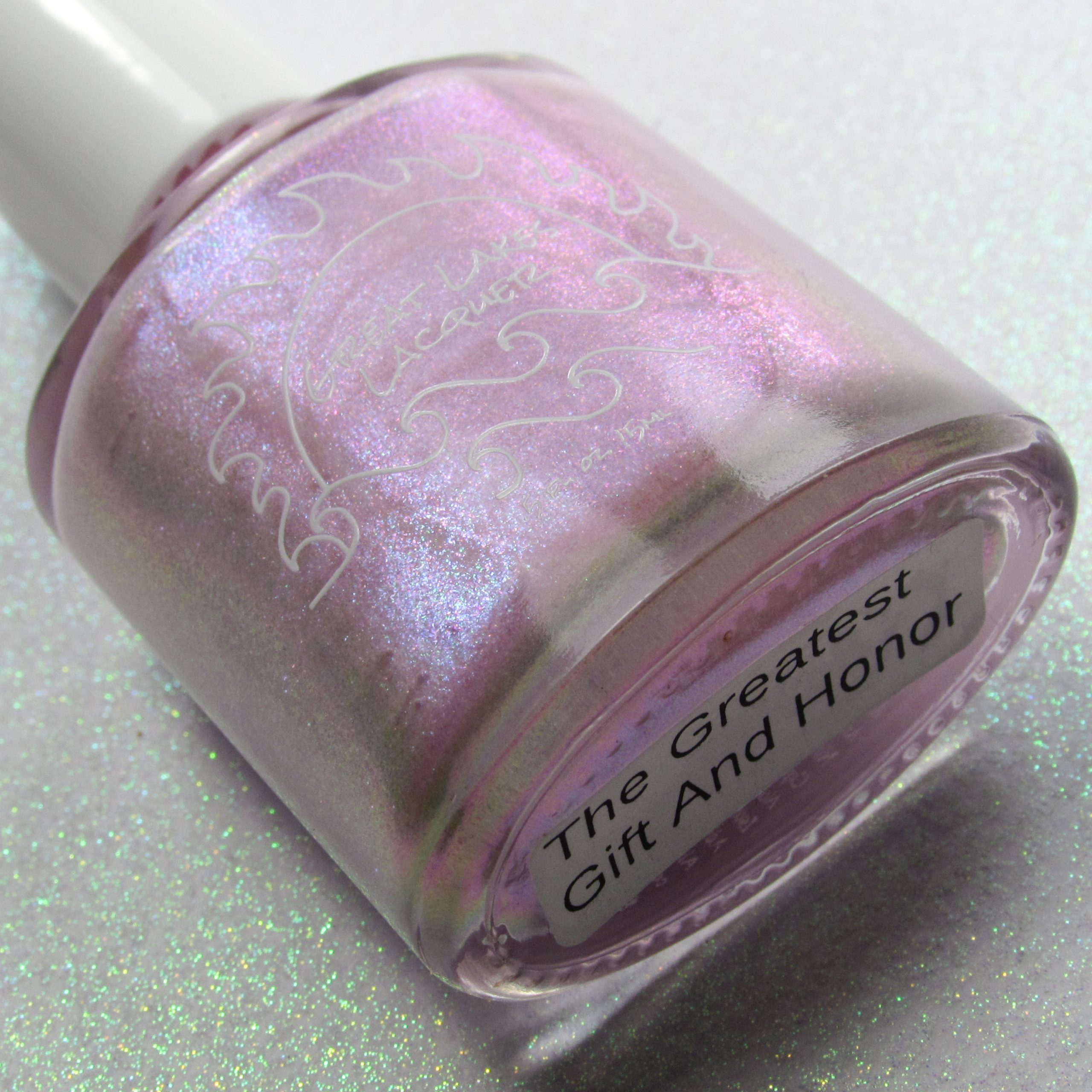 The Greatest Gift And Honor - Great Lakes Lacquer - Polish Pickup Feb 2020