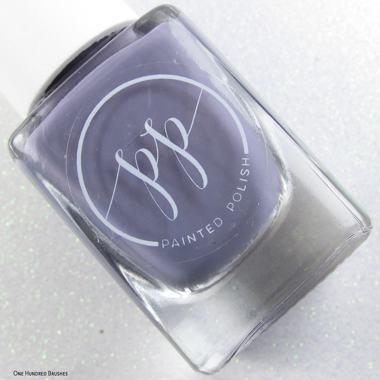 Stamped in Mauve - I Love Mauve - Painted Polish Feb 2020