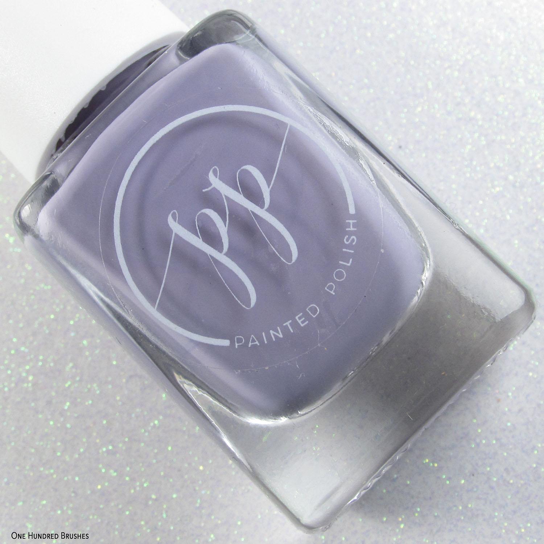 Stamped in Pale Mauve - I Love Mauve - Painted Polish Feb 2020
