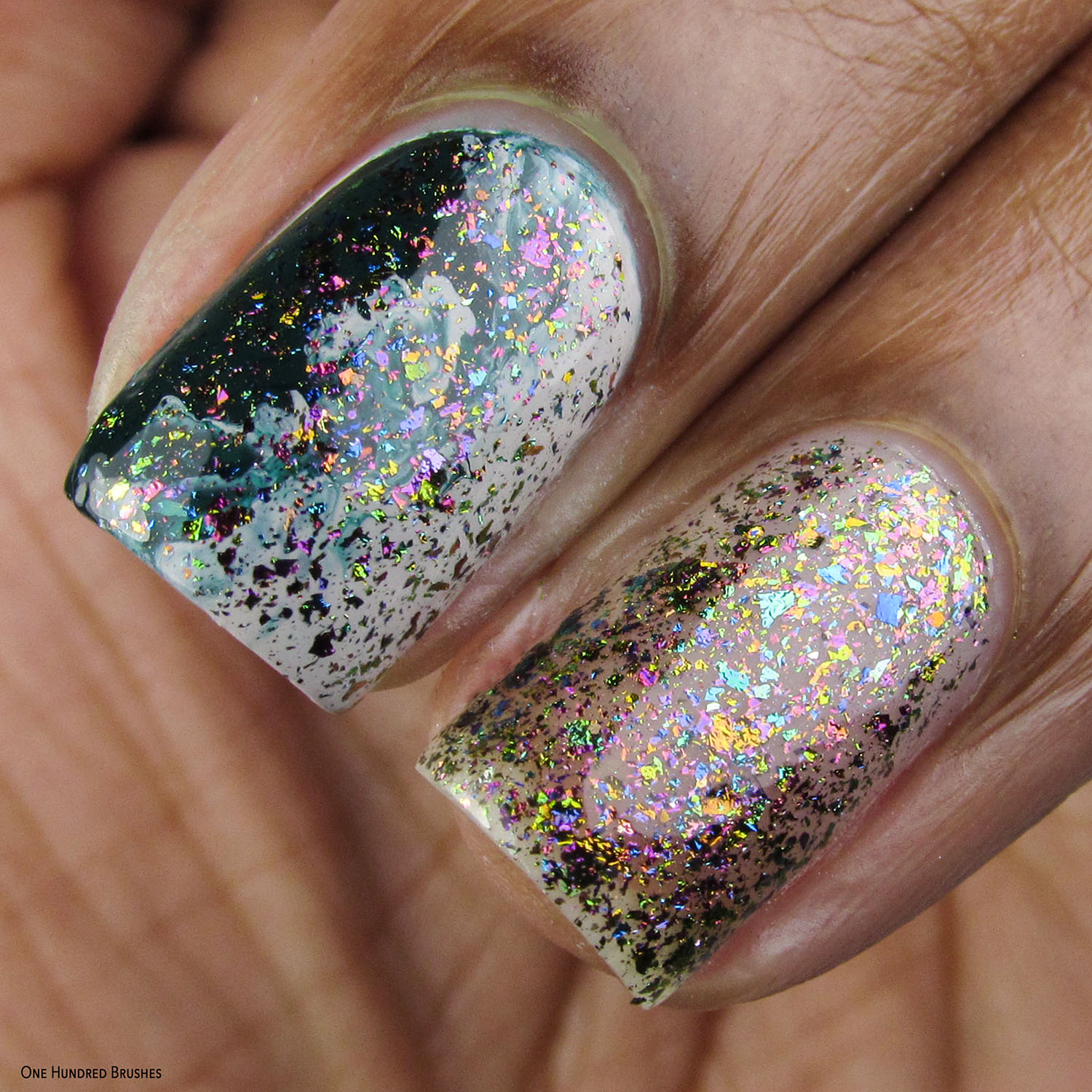 Top O The Rainbow - St Paddy's Day Duo - Painted Polish Feb 2020