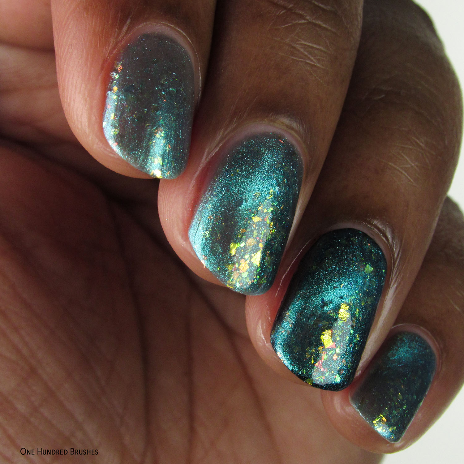 Turquoise Attraction - DRK Nails - Polish Pickup April 2020