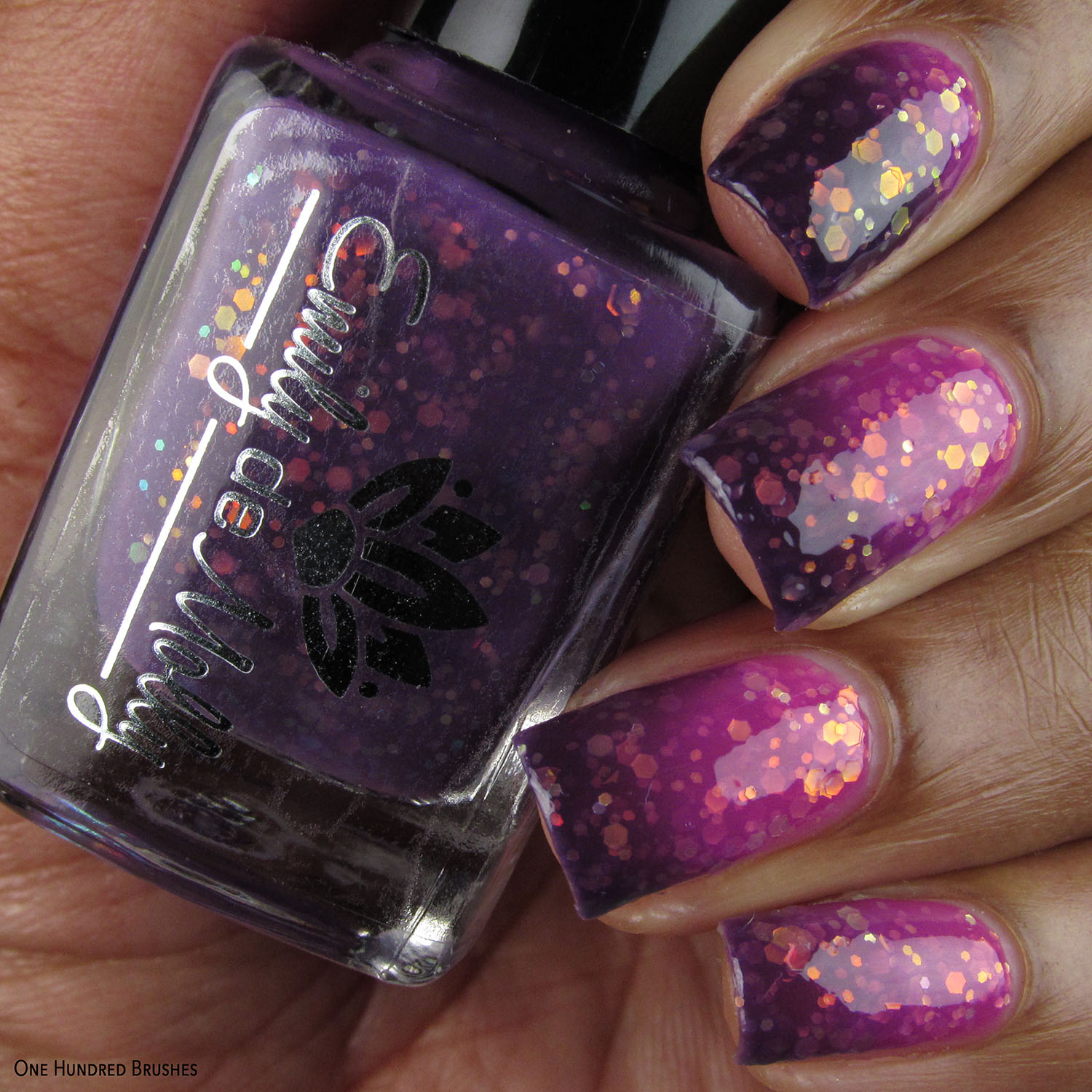 Ombres And Glitter - Emily de Molly - April 2020