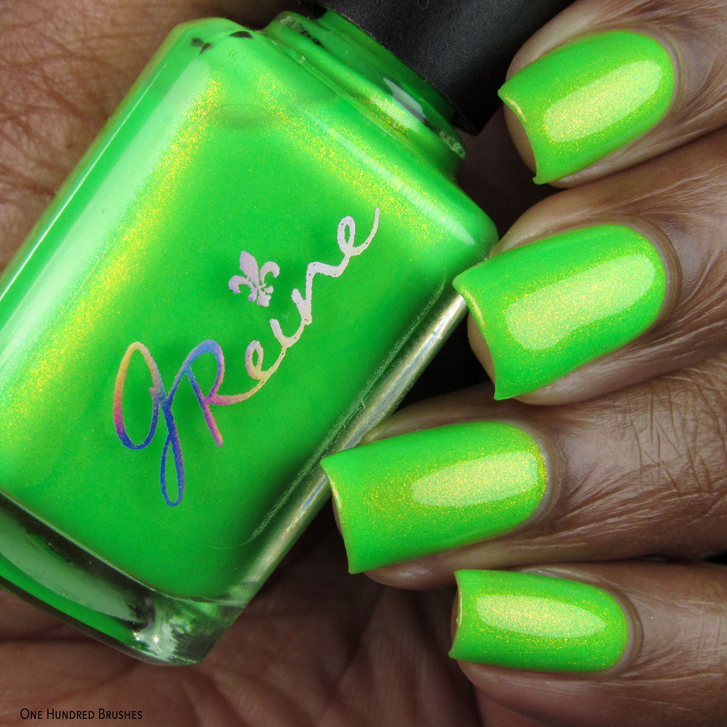 Radioactive Nom Nom - JReine Cosmetics - Polish Pickup May 2020