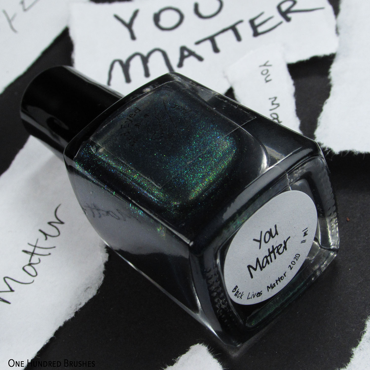 You Matter - Red Eyed Lacquer BLM 2020