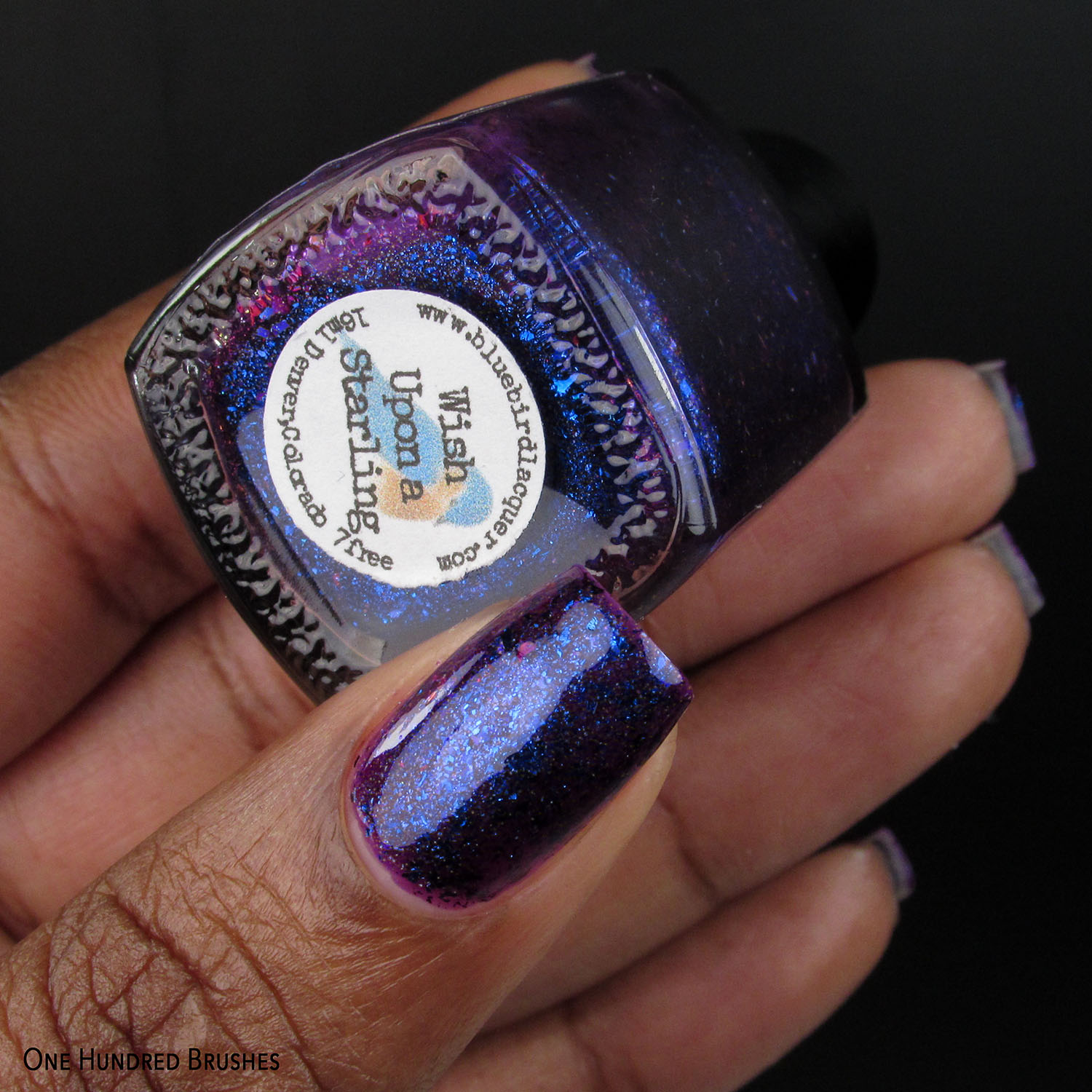 Wish Upon A Starling - Bluebird Lacquer - Hella Handmade July 2020